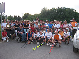 Vollmond-Nordic Walking-Tour